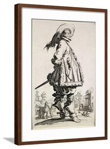 The Musketeer, from Series La Noblesse--Framed Art Print