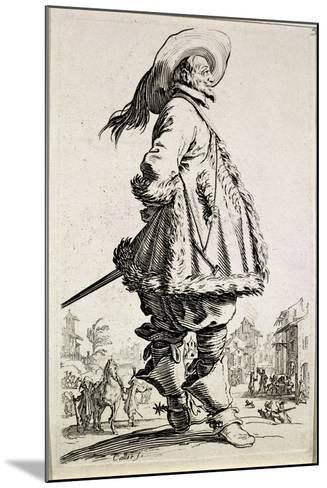 The Musketeer, from Series La Noblesse--Mounted Giclee Print