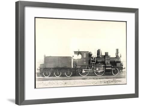 Foto Deutsche Dampflok KraUSS No 2318 Bayern, Tender--Framed Art Print