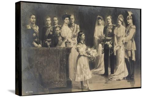 Künstler Wilhelm II, Hochzeit Eitel Friedrichs--Stretched Canvas Print