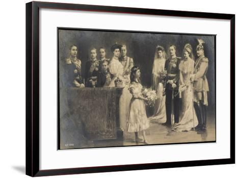 Künstler Wilhelm II, Hochzeit Eitel Friedrichs--Framed Art Print