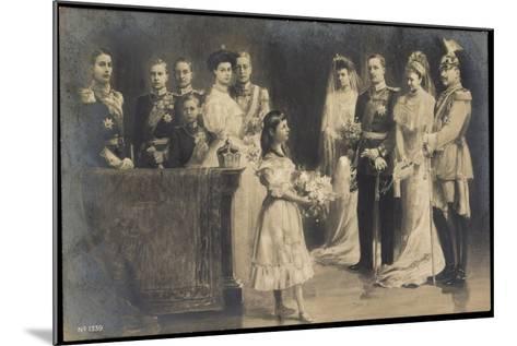 Künstler Wilhelm II, Hochzeit Eitel Friedrichs--Mounted Giclee Print