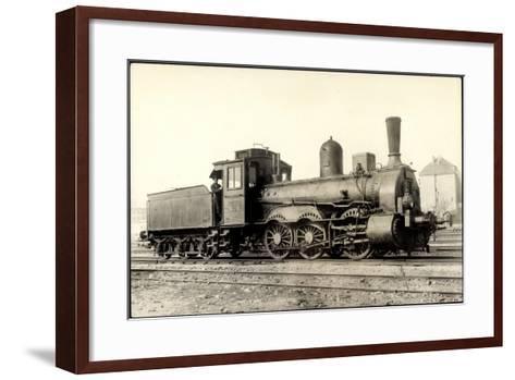 Foto Deutsche G?terlok Nr. 53 718 Preu?en--Framed Art Print