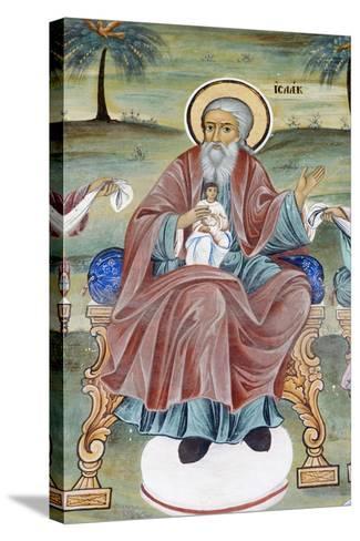 Bulgaria, Rila Monastery at Church of Nativity of Virgin--Stretched Canvas Print
