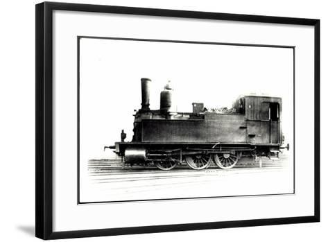 Foto Deutsche Güterlok Tenderlok Nr. 89 8265 Bayern--Framed Art Print