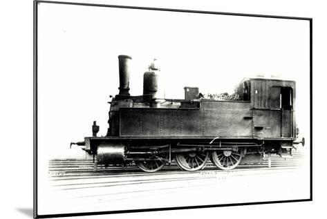 Foto Deutsche Güterlok Tenderlok Nr. 89 8265 Bayern--Mounted Giclee Print