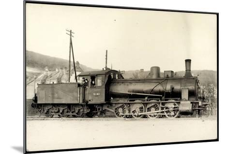 Foto Deutsche Güterlok Nr. 55 663 Preußen, Tender--Mounted Giclee Print