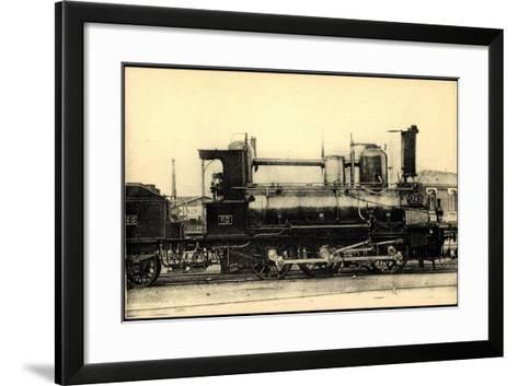 Eisenbahnen, Frankreich, Dampflok, No 745, Orleans--Framed Art Print