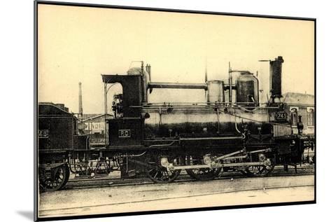 Eisenbahnen, Frankreich, Dampflok, No 745, Orleans--Mounted Giclee Print