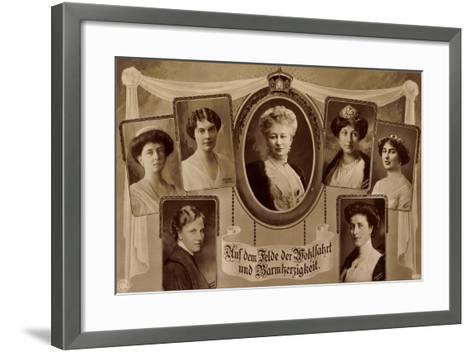 Passepartout Die Prinzessinnen V. Preußen, Npg--Framed Art Print