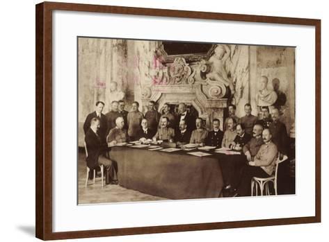 Adel, Mitglieder Des Österreichischen Kaiserhauses--Framed Art Print