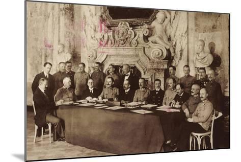 Adel, Mitglieder Des Österreichischen Kaiserhauses--Mounted Giclee Print