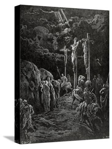 Death of Jesus Christ--Stretched Canvas Print