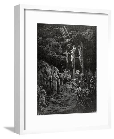 Death of Jesus Christ--Framed Art Print