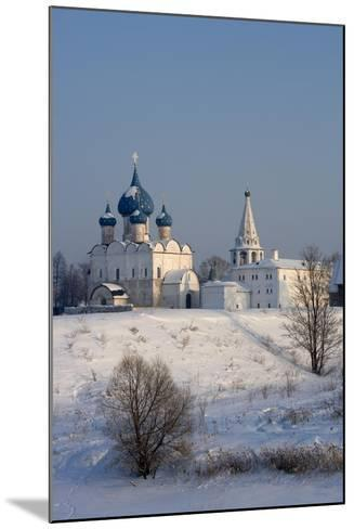 Russia, Golden Ring, Suzdal, Kremlin and Cathedral of Nativity of Virgin--Mounted Giclee Print