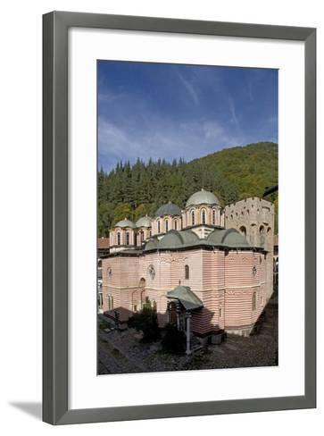 Bulgaria. Rhodope Mountains. Rila Monastery, Church of Nativity of Virgin--Framed Art Print