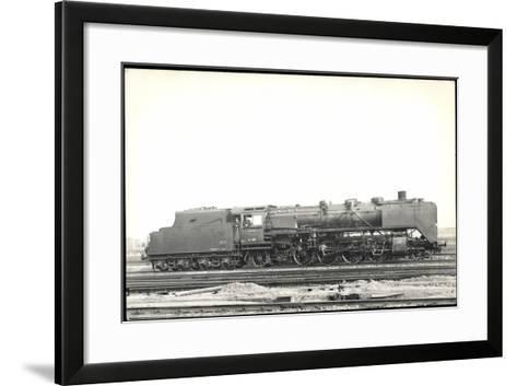 Foto Deutsche Einheitslok Nr. 41 001, Tender--Framed Art Print
