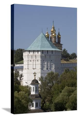 Russia, Sergiev-Posad, Trinity Sergius Lavra, Church of Nativity of St. John Baptist--Stretched Canvas Print