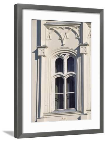 Architectural Detail from Window in Brunswick Castle, Martonvasar, Hungary--Framed Art Print