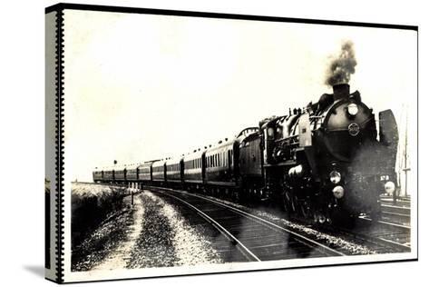 Eisenbahn, Frankreich, Dampflok, Serie 3.1251, 1930--Stretched Canvas Print