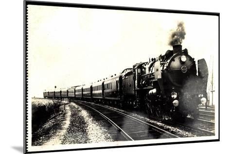 Eisenbahn, Frankreich, Dampflok, Serie 3.1251, 1930--Mounted Giclee Print