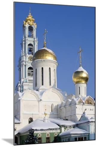 Russia, Golden Ring, Sergiev-Posad, Cathedral of Trinity--Mounted Giclee Print