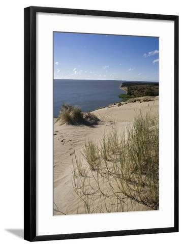 Lithuania, Klaipeda County, Curonian Spit, Vecekrugas, Grey Dune--Framed Art Print