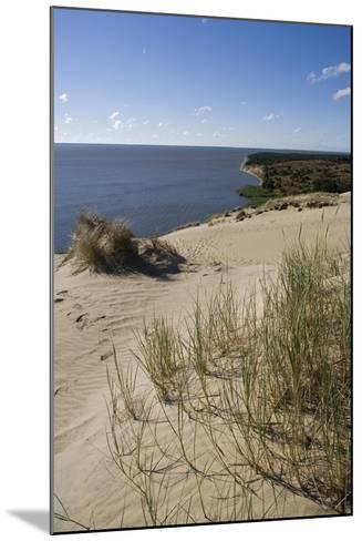 Lithuania, Klaipeda County, Curonian Spit, Vecekrugas, Grey Dune--Mounted Giclee Print
