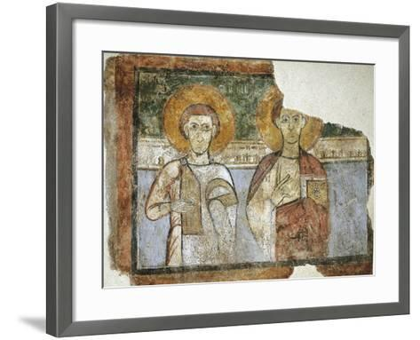Saints Eutychius and Proculus, 9th Century--Framed Art Print