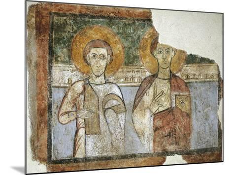 Saints Eutychius and Proculus, 9th Century--Mounted Giclee Print