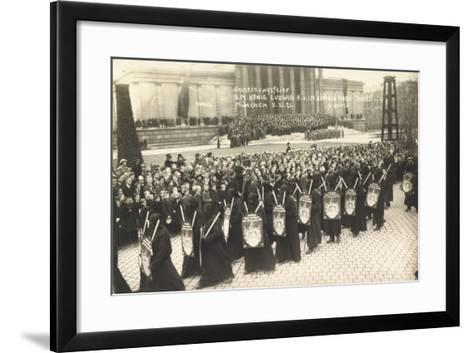 Foto München, Beisetzungsfeier, König Ludwig III--Framed Art Print