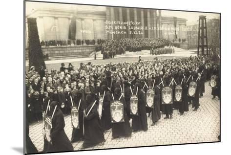 Foto München, Beisetzungsfeier, König Ludwig III--Mounted Giclee Print