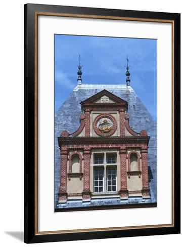 France, Ile-De-France, Fontainebleau, 16th Century Fontainebleau Palace--Framed Art Print