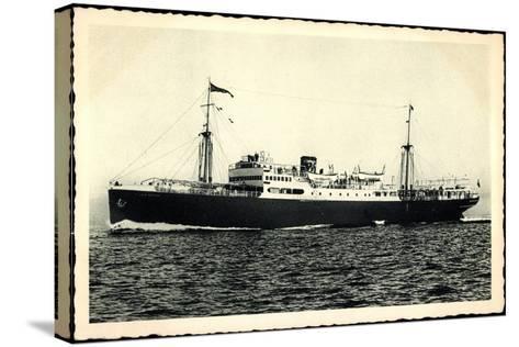 Adriatica Line, Dampfschiff San Marco, Paquebot--Stretched Canvas Print