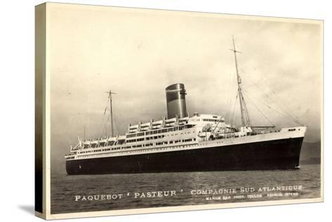 Compagnie Navigation Sud Atlantique,Paquebot Pasteur--Stretched Canvas Print
