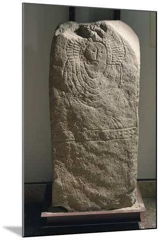 Granite Idol known as Stele of Granja De Toninuelo, from Jerez De Los Caballeros, Badajoz--Mounted Giclee Print