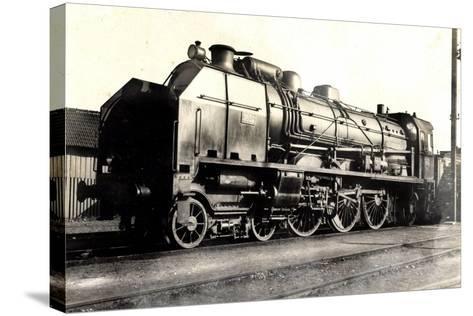 Eisenbahn, Frankreich, Dampflok, D 50, No 3652, P.O--Stretched Canvas Print