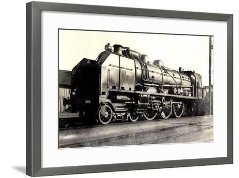 Eisenbahn, Frankreich, Dampflok, D 50, No 3652, P.O--Framed Art Print