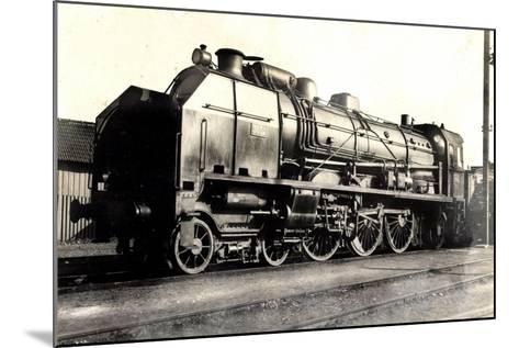 Eisenbahn, Frankreich, Dampflok, D 50, No 3652, P.O--Mounted Giclee Print