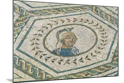 Spain, Andalusia, Carmona, Roman Mosaic in House of Planetarium, Detail--Mounted Giclee Print