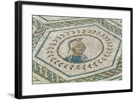 Spain, Andalusia, Carmona, Roman Mosaic in House of Planetarium, Detail--Framed Art Print