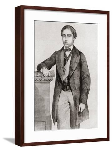 Albert Edward, Prince of Wales, 1841 – 1910, Future King Edward VII--Framed Art Print
