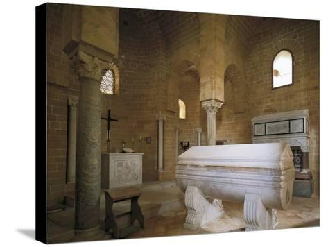 Norman Church of Trinity of Delia, 12th Century, Interior, Castelvetrano, Sicily, Italy--Stretched Canvas Print