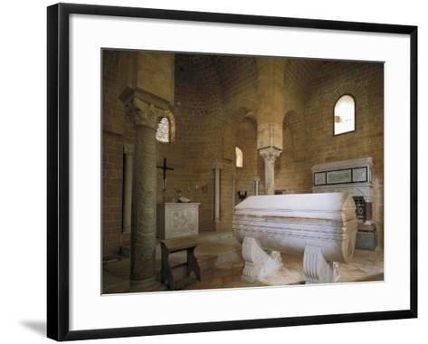 Norman Church of Trinity of Delia, 12th Century, Interior, Castelvetrano, Sicily, Italy--Framed Art Print