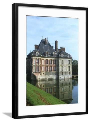 France, Ile-De-France, Ormesson-Sur-Marne, Castle of Ormesson, 16th Century--Framed Art Print