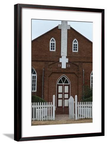 Paraguay, Chaco, Filadelfia, Mennonite Church--Framed Art Print