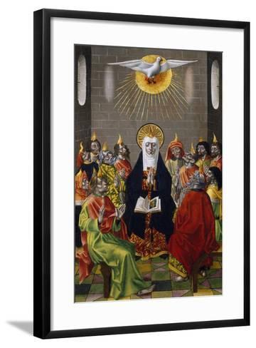 Pentecost, Ca 1450--Framed Art Print