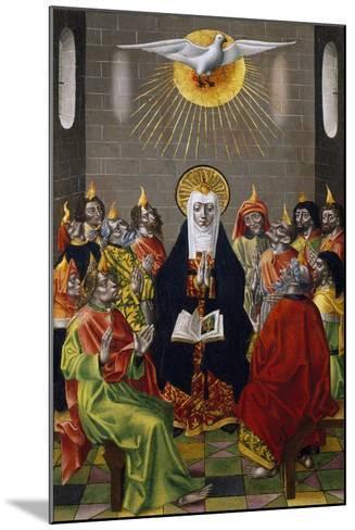 Pentecost, Ca 1450--Mounted Giclee Print