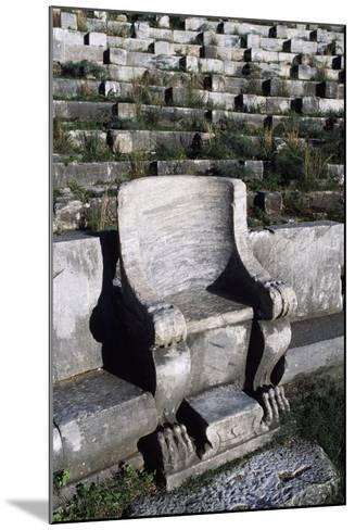 Theatre in Priene, Turkey--Mounted Giclee Print