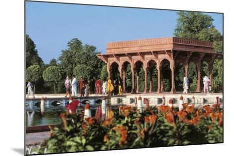 Pakistan, Punjab, Lahore, Shalimar Gardens, Built by Mughal Emperor Shah Jahan--Mounted Giclee Print